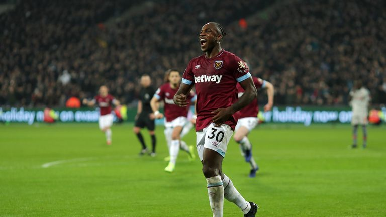 Michail Antonio thinks Lanzini could be key in West Ham's hunt for Europe