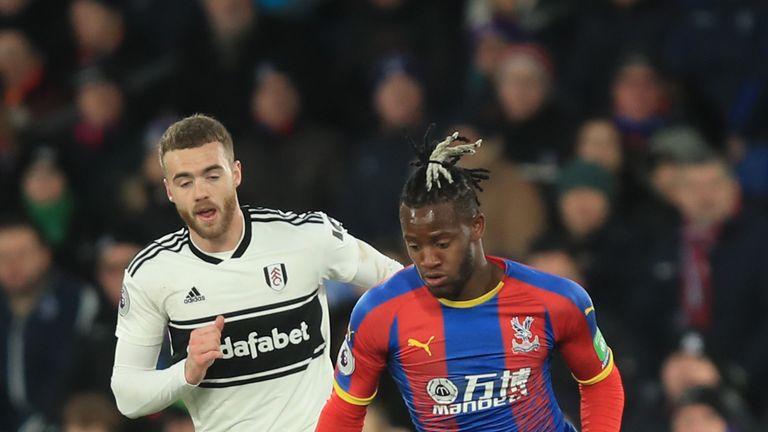 Fulham struggled against Crystal Palace