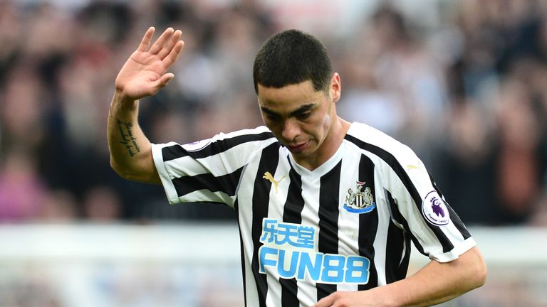 Newcastle are in form after beating Huddersfield, with Miguel Almiron starring