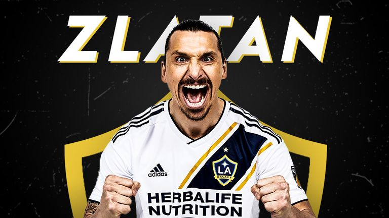 sale retailer 22622 252fa Zlatan Ibrahimovic: LA Galaxy striker prepares for new MLS ...