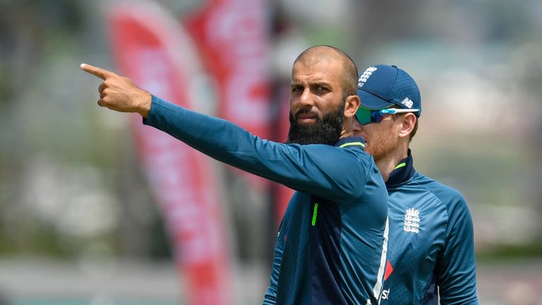 Moeen Ali will leave return home after their 5th ODI against Windies