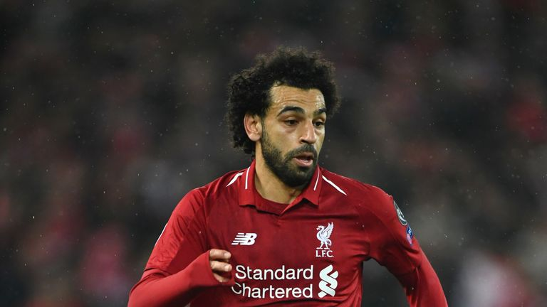 Fans appeared to be singing a racist chant about Mohamed Salah