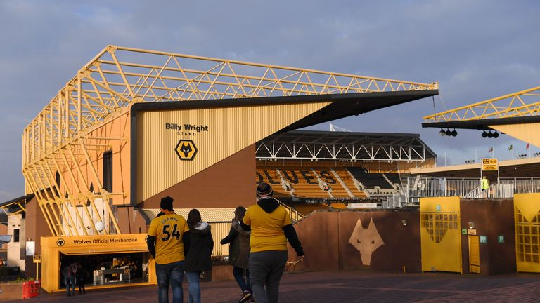 Molineux Stadium is set to be redeveloped