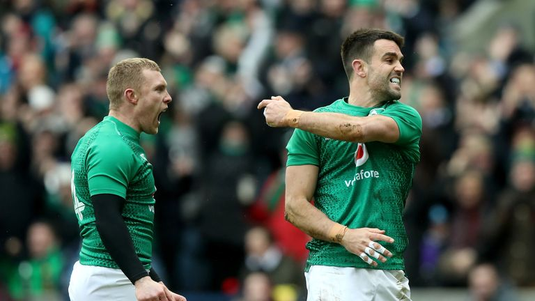 Ireland will be content, if not overjoyed with their afternoon's work at Murrayfield