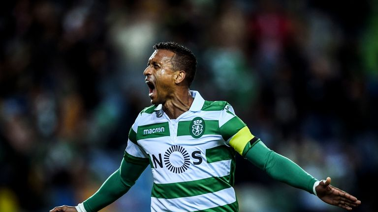 Nani performed well for Sporting after joining them last summer