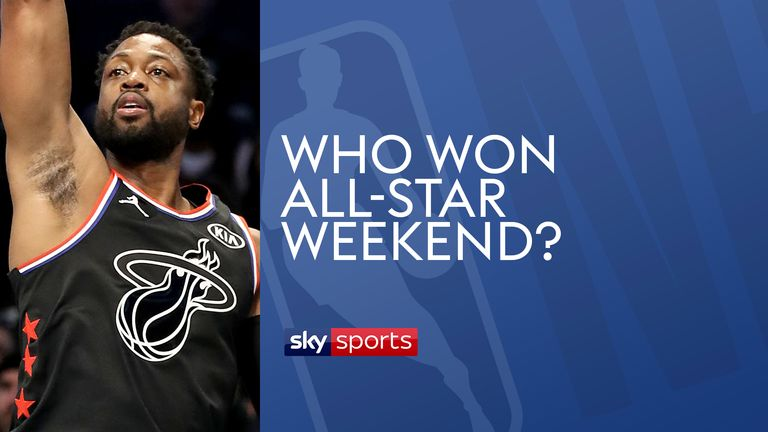 Who won All-star weekend?