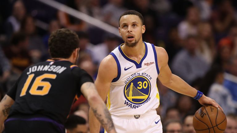 Stephen Curry inspires fourth-quarter rally as Golden State Warriors seal comeback win over Phoenix Suns