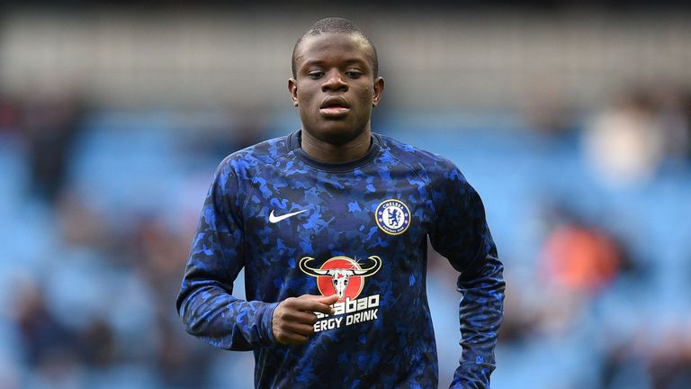 Kante insists that he is enjoying his more advanced role at Chelsea
