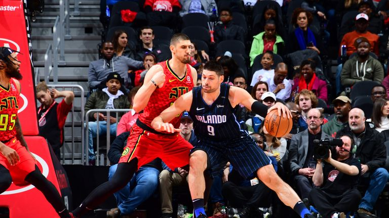 Nikola Vucevic scored 19 points for the Magic