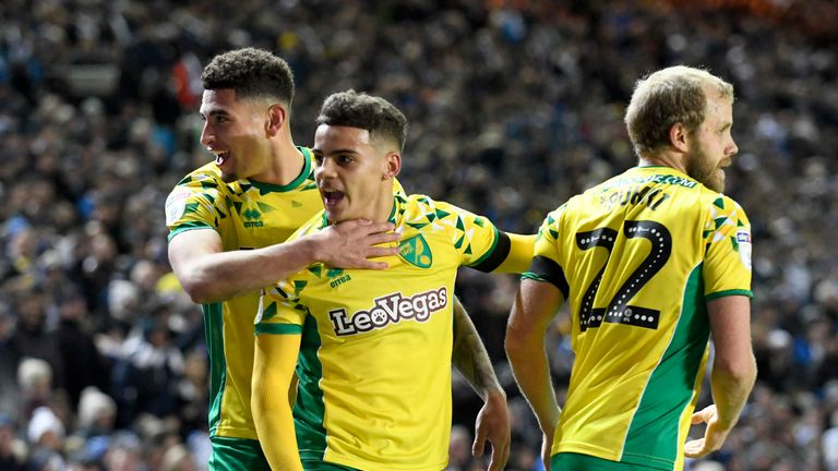 Norwich beat Leeds 3-1 at Elland Road at the beginning of February.