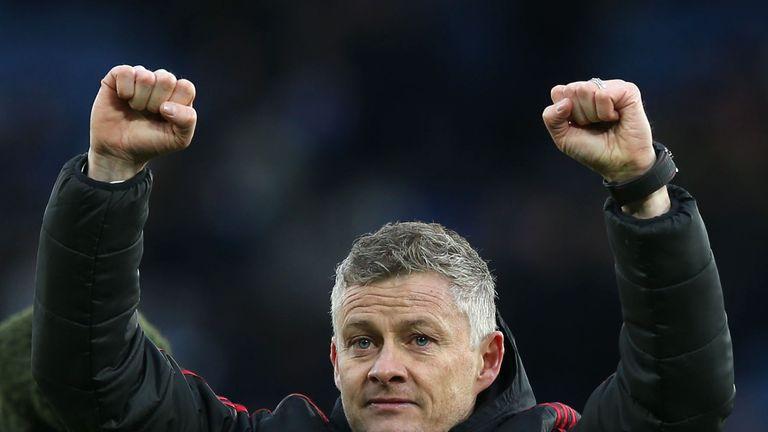 Manchester United caretaler boss Ole Gunnar Solskjaer