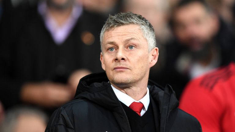 Manchester United manager Ole Gunnar Solskjaer suffered his first defeat to PSG