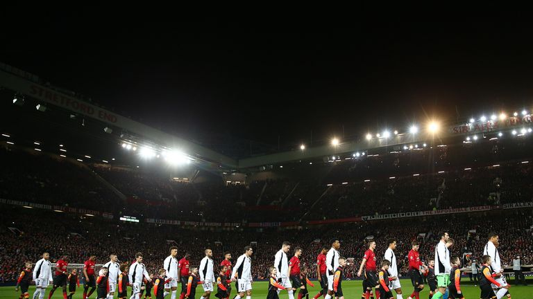 PSG beat Man Utd in the first leg in their Champions League clash at Old Trafford