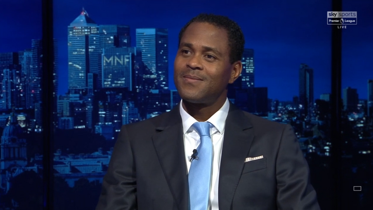 Patrick Kluivert was on Monday Night Football