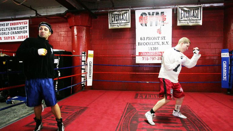 Paulie Malignaggi has used Gleason's Gym in the past