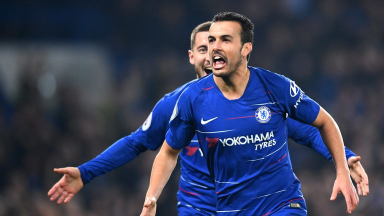 Pedro's most recent goal came in a morale-boosting 2-0 win over Tottenham last week