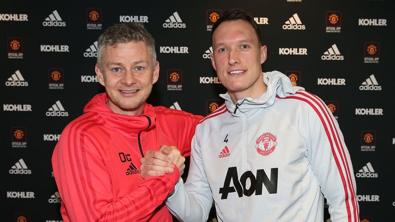 Jones has signed a new four-and-a-half-year contract at Manchester United