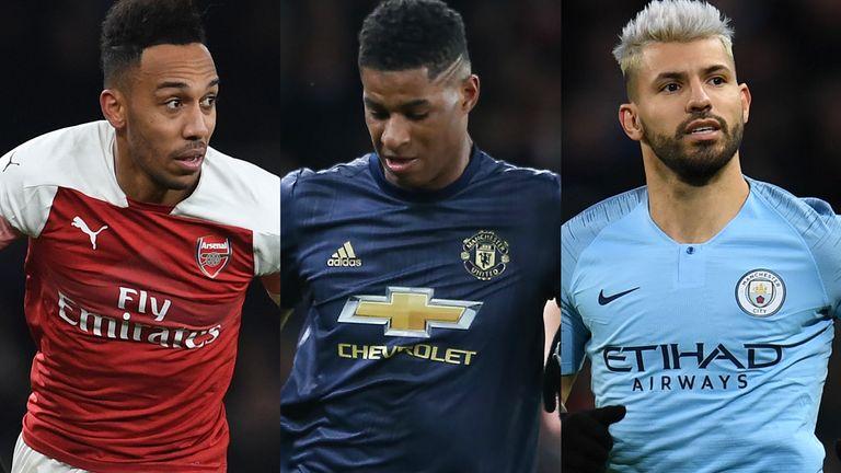 Will Pierre-Emerick Aubameyang, Marcus Rashford or Sergio Aguero make it into your team of the season so far?