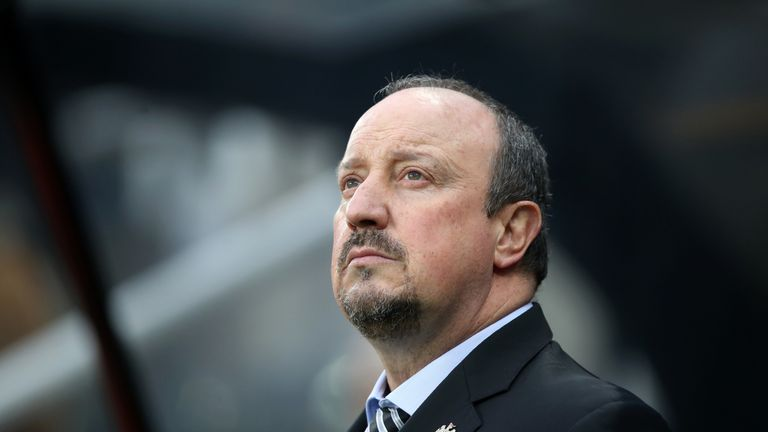 Newcastle boss Rafa Benitez's future is in doubt