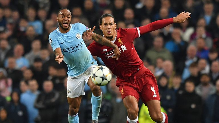 Sterling says he felt greater pressure at Liverpool than in last season's title race