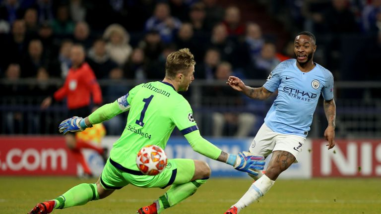 Sterling slots home Manchester City's winner