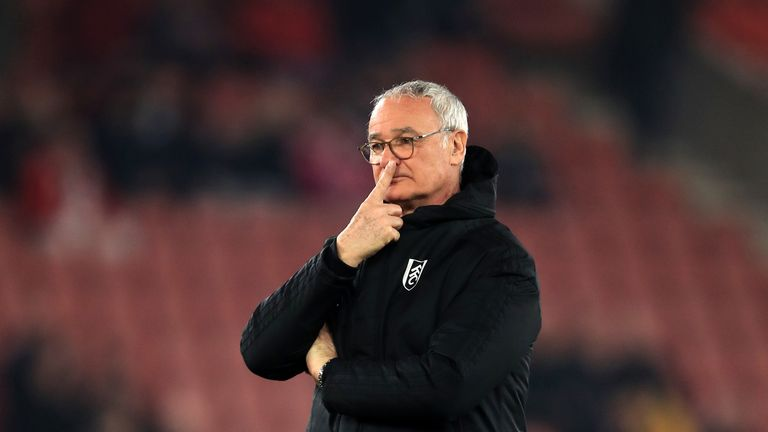 Claudio Ranieri is set for talks with Fulham about his future