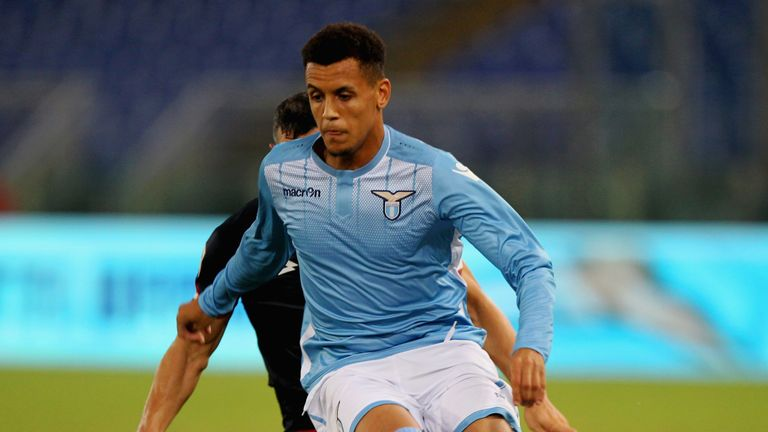 Morrison played just 58 minutes of league football for Lazio