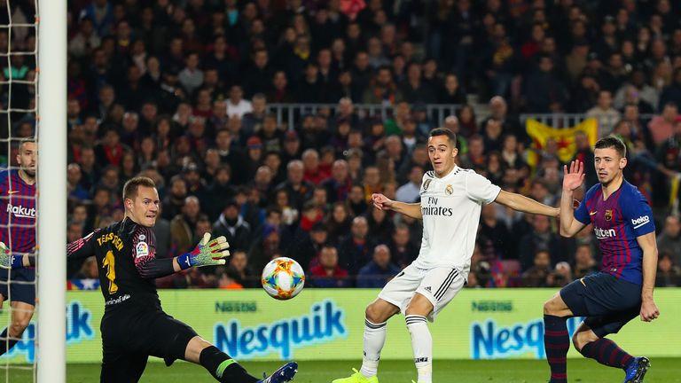Barcelona 1 1 R Madrid Match Report Highlights
