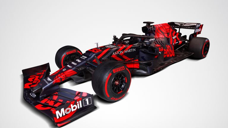 The RB15 had been unveiled last week in a one-off livery