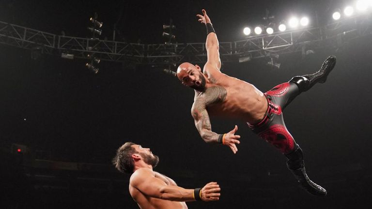 Ricochet has already made a name for himself as one of the top performers in NXT