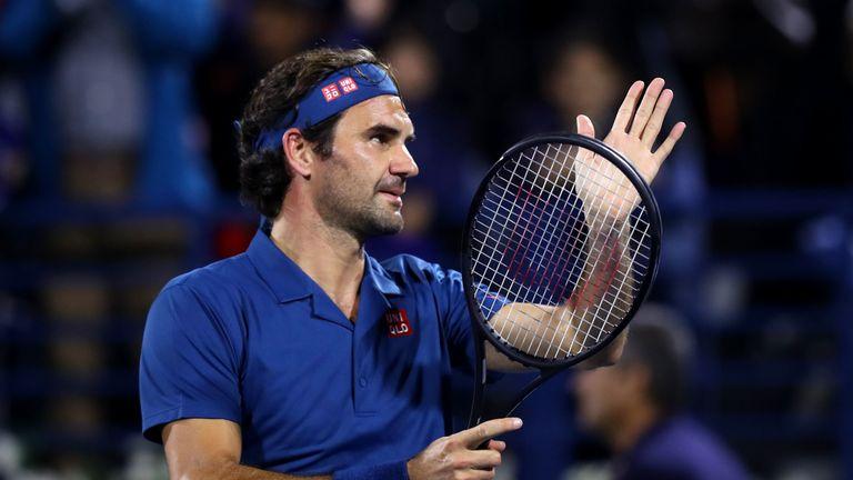 Federer going for 100th title in Dubai final