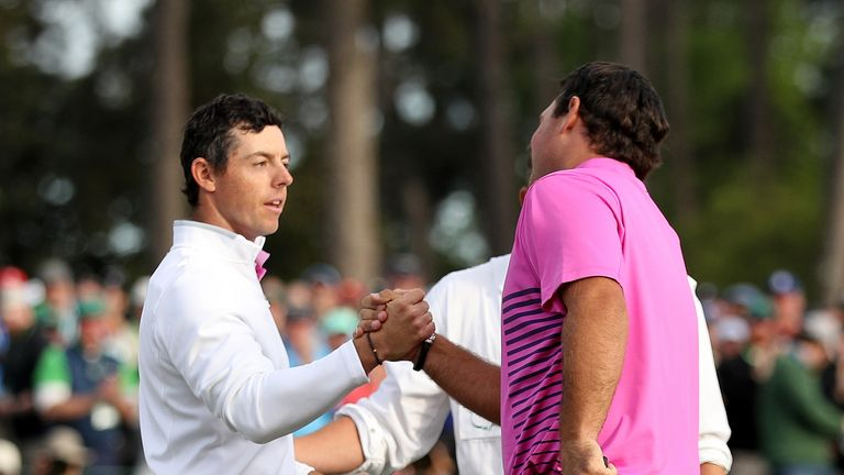 McIlroy posted a final-round 74 to finish tied-fifth at the 2018 Masters