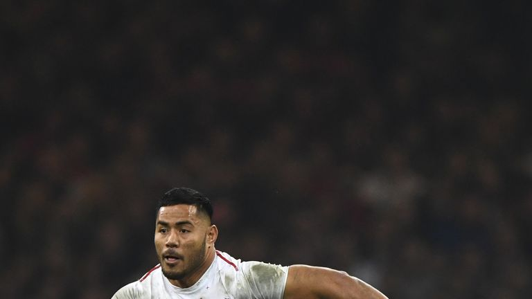 England centre Manu Tuilagi will start his first game since March when facing Ireland at Twickenham on Saturday