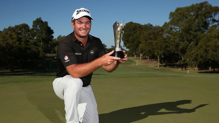 Ryan Fox won his first European Tour title, but several players had putters stolen