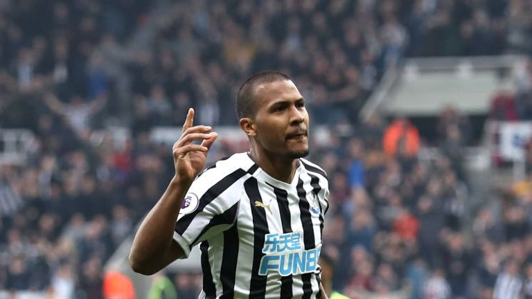 Salomon Rondon is on a season-long loan at Newcastle from West Brom