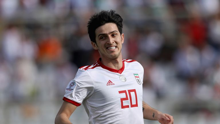 4f359b470 Wolves had been interested in signing Iranian striker Sardar Azmoun