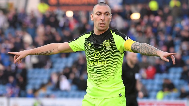 Scott Brown red card was harsh, says Brendan Rodgers