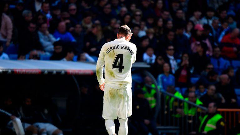Sergio Ramos Real Madrid Girona
