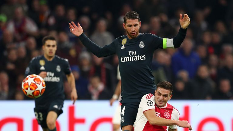 313223dd8 Sergio Ramos has been banned for Real Madrid s next two matches in Europe