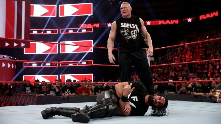 Rollins' WrestleMania challenge to Brock Lesnar did not go entirely to plan