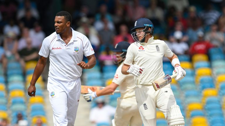 Shannon Gabriel was censured for comments made to England captain Joe Root