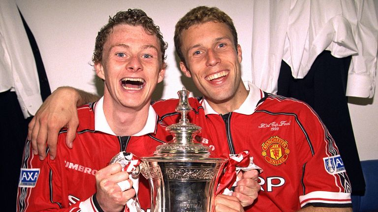 Solskjaer's famous fourth-round stoppage-time winner against Liverpool kick-started their successful FA Cup campaign in 1999