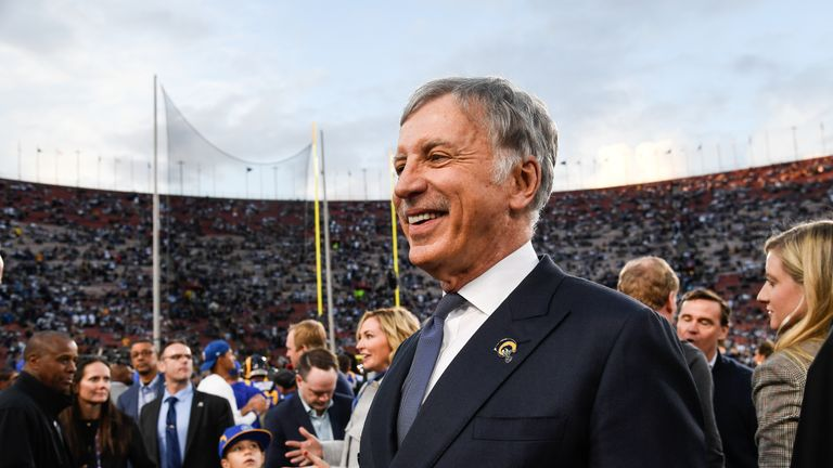 Stan Kroenke also owns the NFL's LA Rams and the NBA's Denver Nuggets