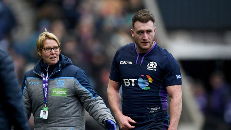 27ad9742525 Stuart Hogg an injury concern for Glasgow Warriors ahead of Saracens ...