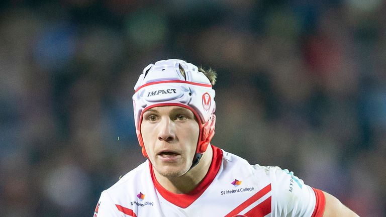 Theo Fages will be back in action for St Helens against London Broncos