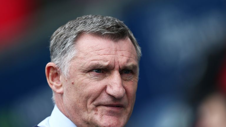 Blackburn boss Tony Mowbray
