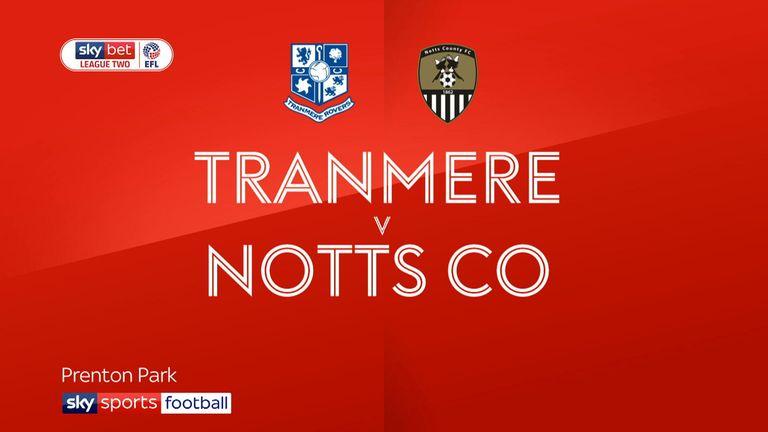 Tranmere v Notts County