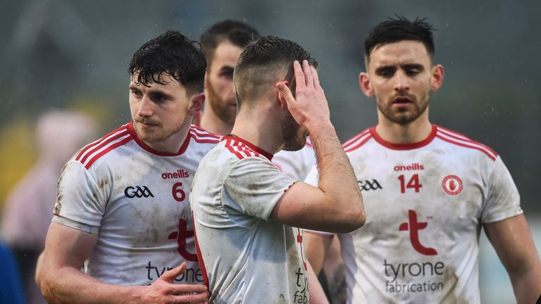 Tyrone were convincingly beaten by Mayo last week
