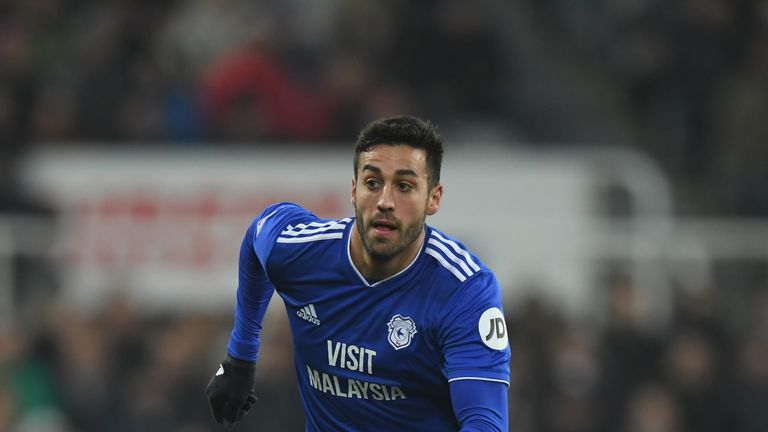 Camarasa has only played seven minutes across Cardiff's last four Premier League games