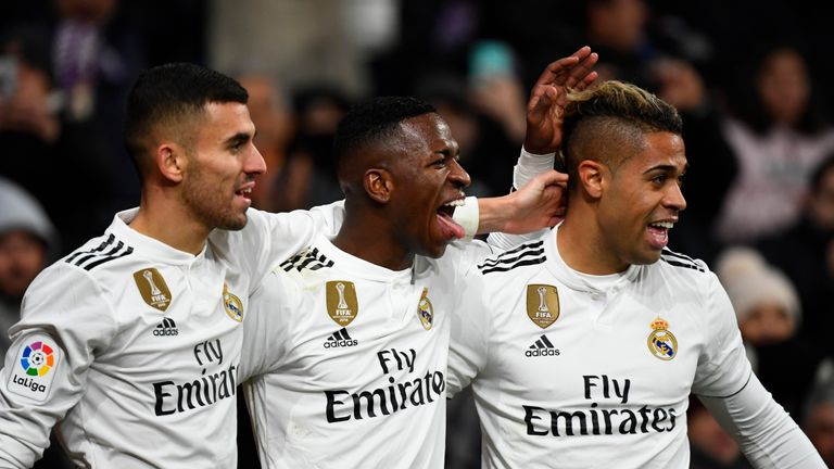 Vinicius has started Real's last five league matches